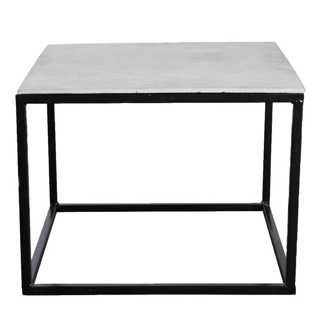 House doctor coffee table metal concrete living and co house doctor coffee table metal concrete geotapseo Choice Image