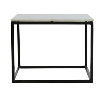 House Doctor Coffee table metal marble