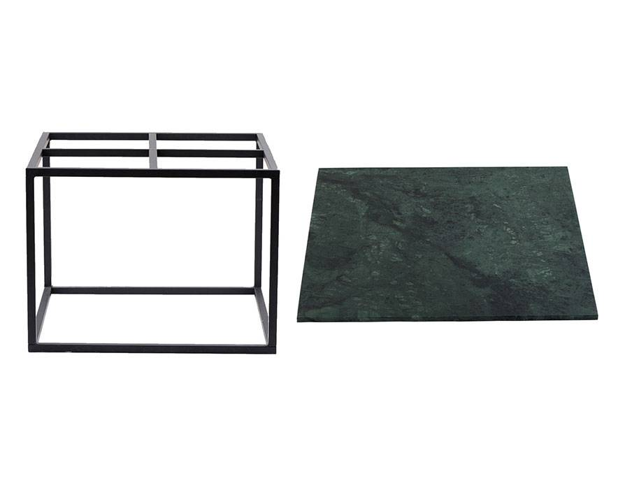 ... House Doctor Coffee Table Green Marble Metal