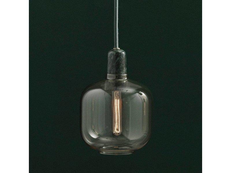 normann copenhagen amp small hanglamp goud groen living. Black Bedroom Furniture Sets. Home Design Ideas