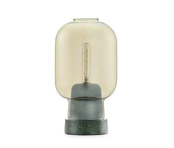 Normann Copenhagen AMP bordlampe grøn guld