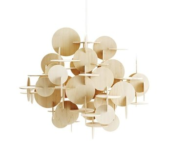 Normann Copenhagen Bau Large hanging lamp nature wood