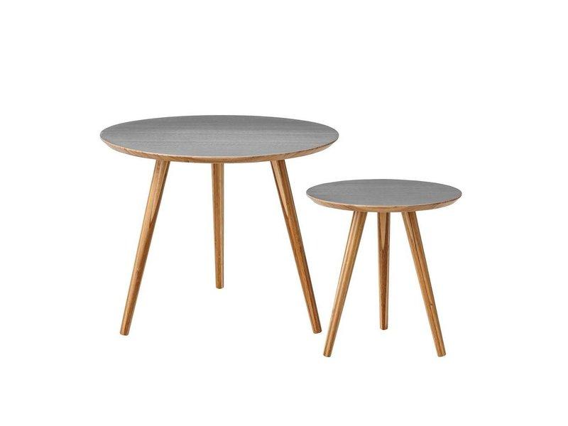 Bloomingville Sofabord sæt af to grå bambus