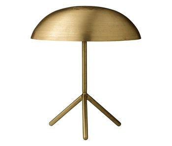 Bloomingville Tripod table lamp brushed gold brass