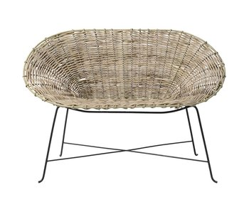 Bloomingville Kubu rattan sofa naturel