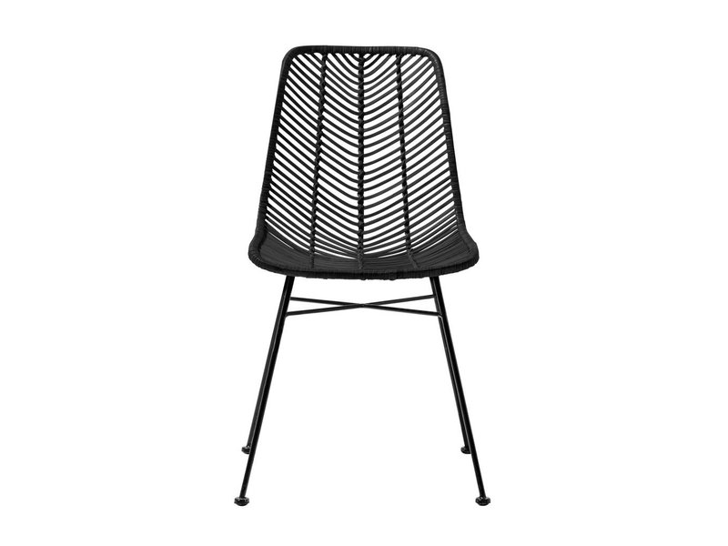 Bloomingville Rattan Chair Black Living And Co