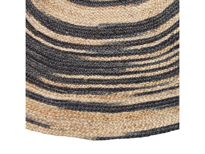 Jute teppich  HK-Living Rund Jute Teppich Medium - LIVING AND CO.