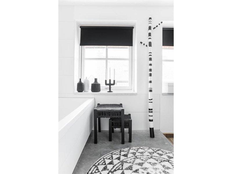 HK-Living Badmat rond katoen 120 cm