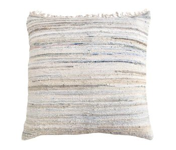 HK-Living Cushion bleached denim