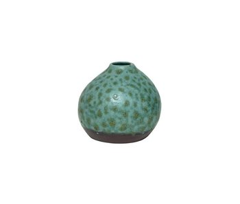 HK-Living Vase ceramic organic green