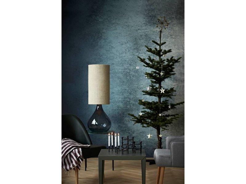 house doctor big bordlampe gr glas living and co. Black Bedroom Furniture Sets. Home Design Ideas