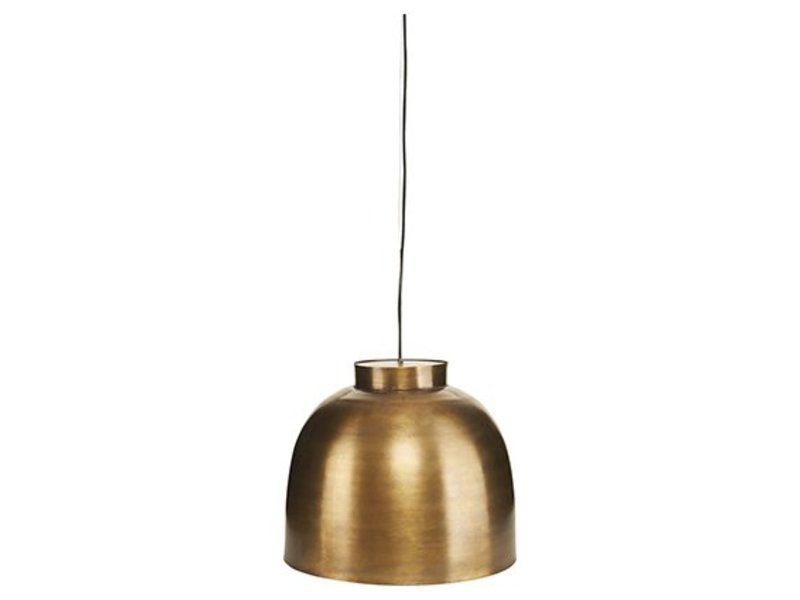 House Doctor Bowl hanglamp messing LIVING AND CO