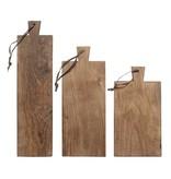 HK-Living Breadboard træ sæt med 3