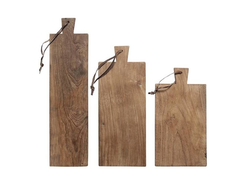 HK-Living Cutting Board wood set of 3