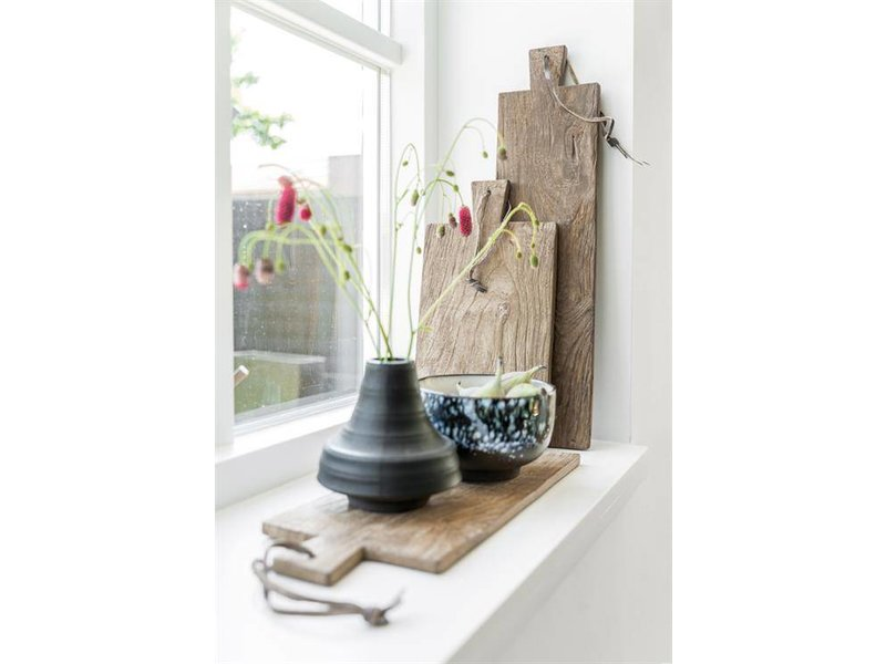 HK-Living legno tagliere set di 3