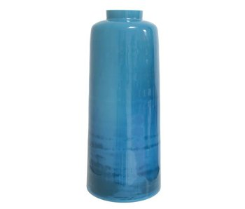 HK-Living Vase glass blue