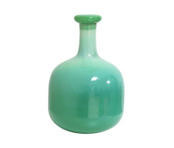HK-Living Vase glass green
