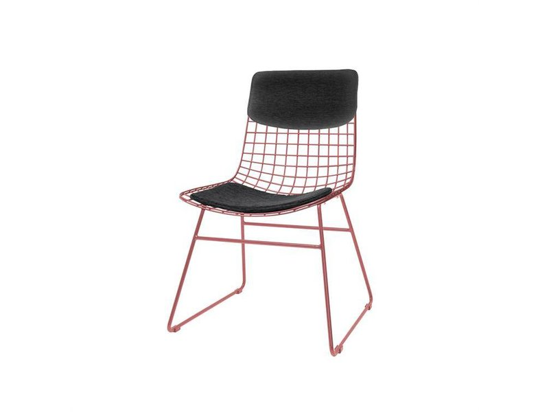 Black Metal Dining Chairs hk-living armchair metal black - living and co.
