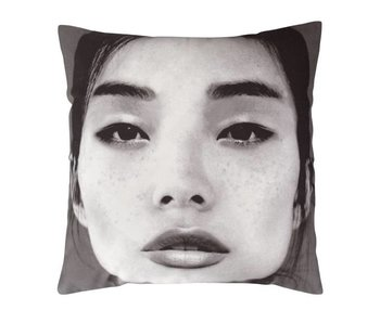 HK-Living Cushion japanese portret