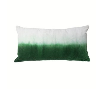 HK-Living Cushion white / green