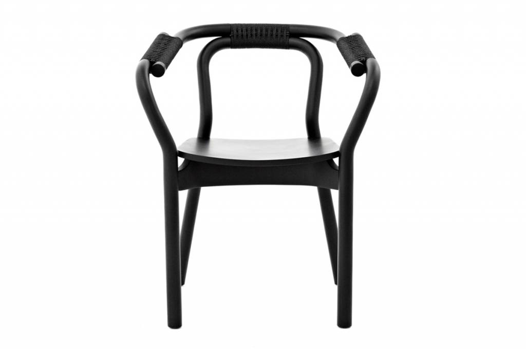 normann copenhagen knot chair stoel zwart hout living. Black Bedroom Furniture Sets. Home Design Ideas