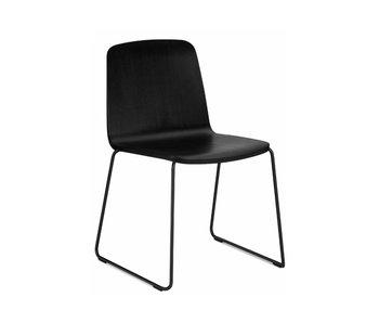 Normann Copenhagen Just Chair stoel zwart hout