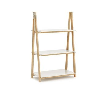 Normann Copenhagen One Step hvid Up Lav reol