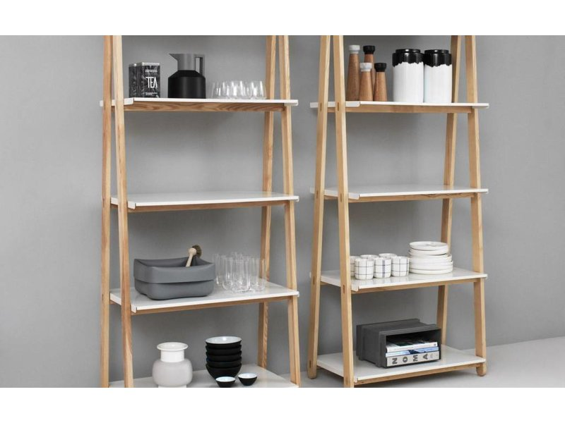 Normann Copenhagen One Step Up High bookcase white ...