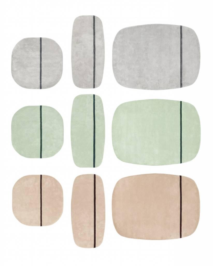 normann copenhagen oona vloerkleed 140x140 wol living. Black Bedroom Furniture Sets. Home Design Ideas