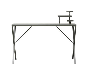 House Doctor Tray desk metal green