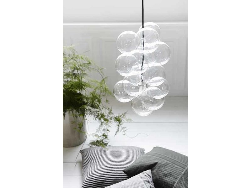 House Doctor DIY Glass Ball Lamp LIVING AND CO