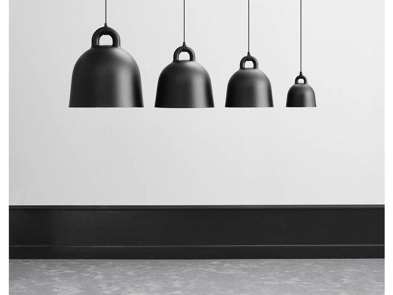 normann copenhagen bell large hanging lamp black living and company. Black Bedroom Furniture Sets. Home Design Ideas