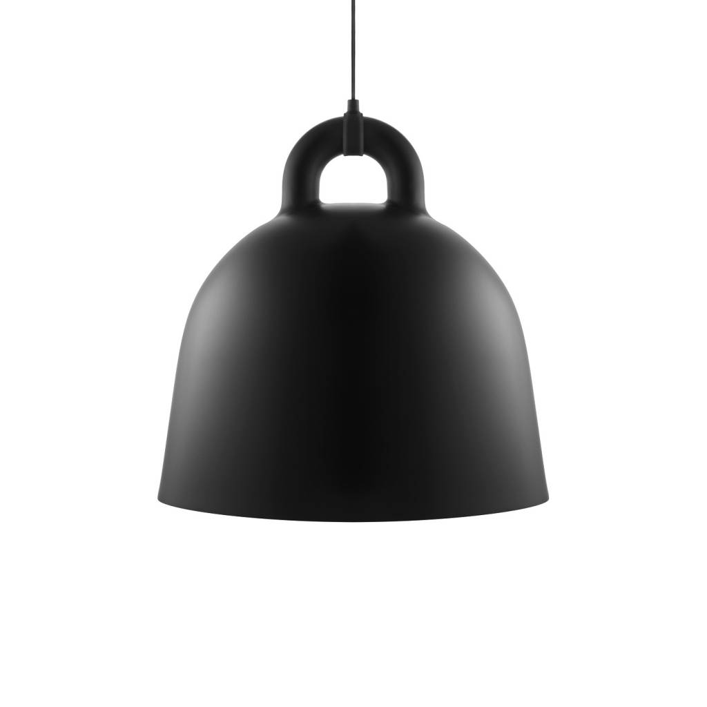 normann copenhagen bell large hanglamp zwart living and. Black Bedroom Furniture Sets. Home Design Ideas
