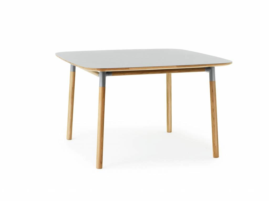 Tafel Grijs Eiken : Normann copenhagen form tafel eiken grijs living and co
