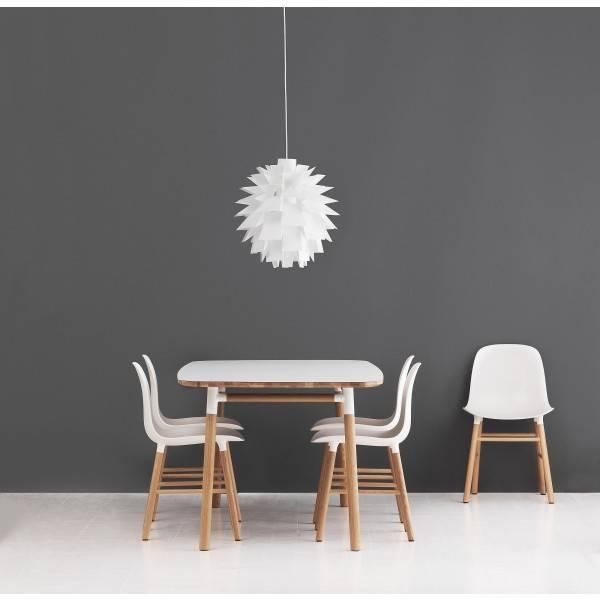... Normann Copenhagen Form Table Oak White ...