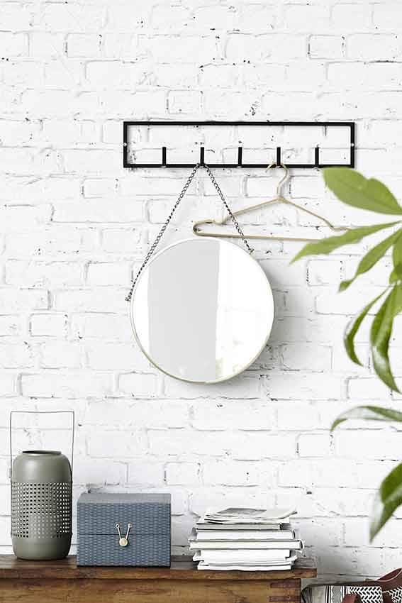 house doctor rack kapstok zwart metaal living and co. Black Bedroom Furniture Sets. Home Design Ideas