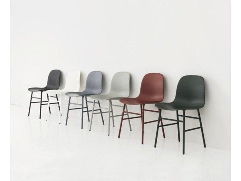 Normann Copenhagen Form Chair stoel staal grijs