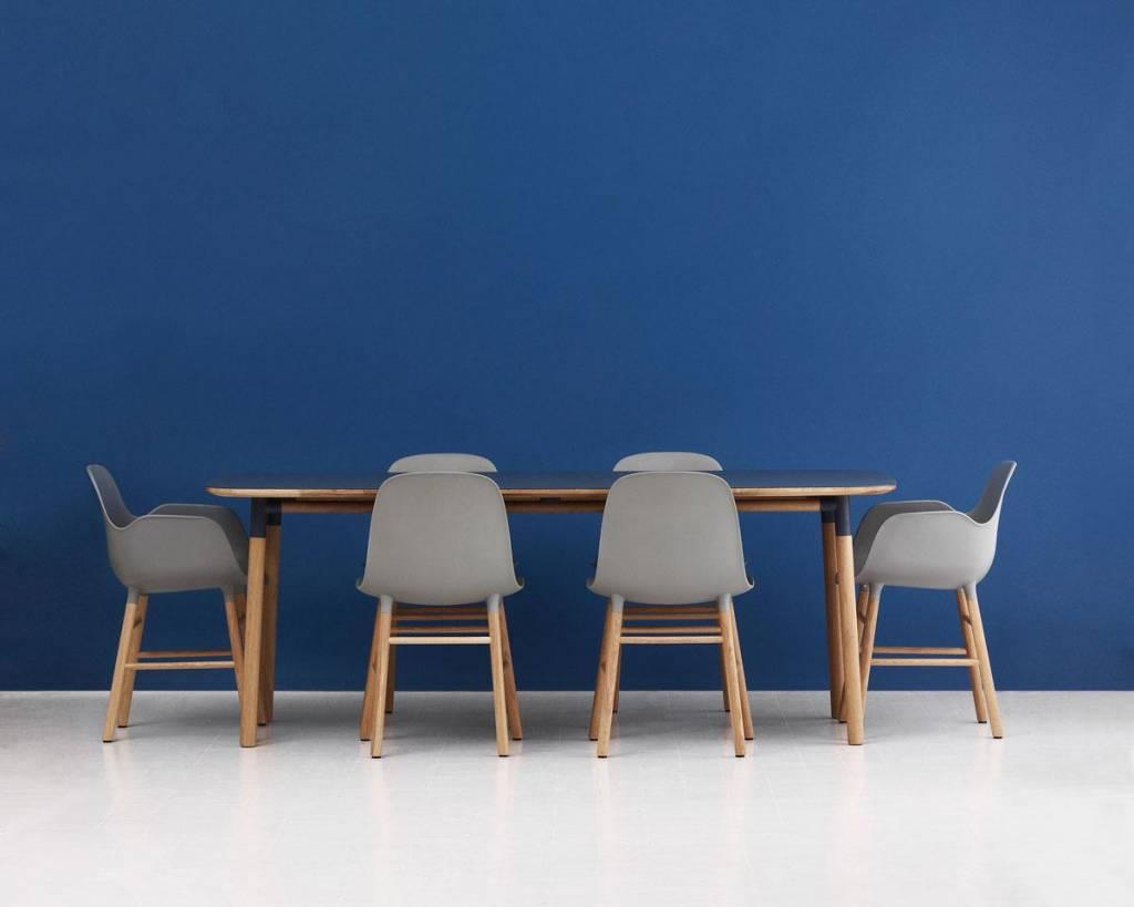 Normann Copenhagen Form Chair walnut wood white - LIVING ...