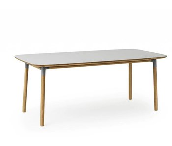 Normann Copenhagen Form table oak grey