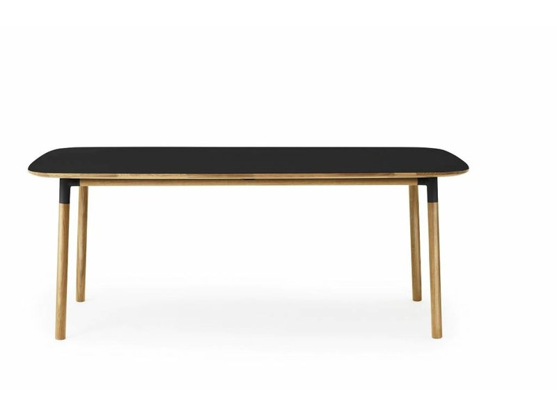 Normann copenhagen form table black living and company for Html form table