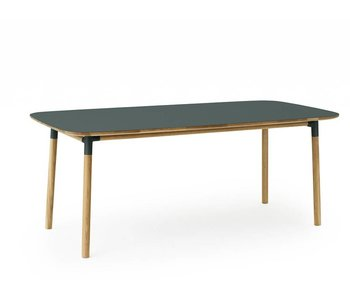 Normann Copenhagen Form table oak green