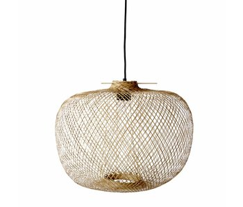 Bloomingville lámpara de bambú