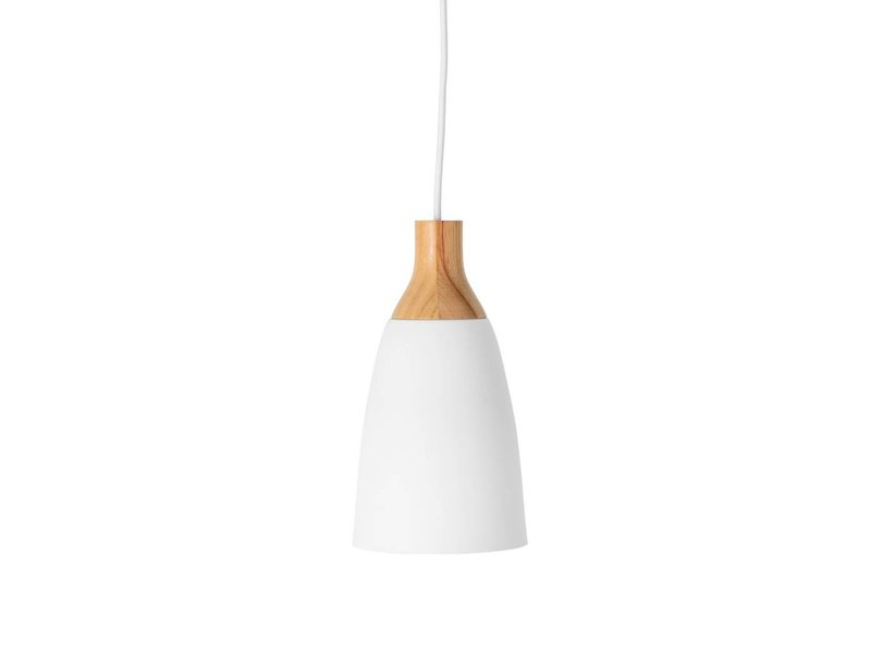 Bloomingville Hanging Lamp Oak Wood White Living And Co