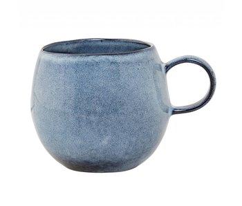 Bloomingville Sandrine mug blue