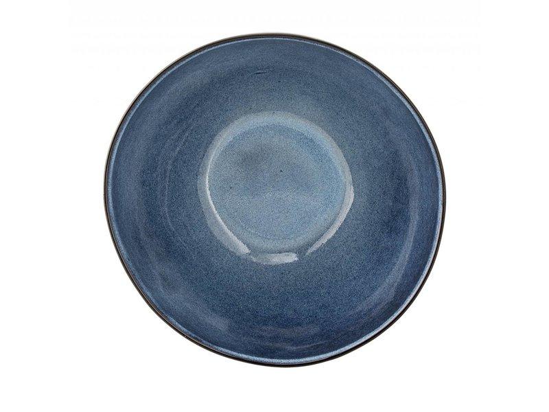 Bloomingville Sandrine schaal blauw