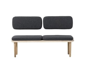Bloomingville Welcome sofa dark gray cotton wood