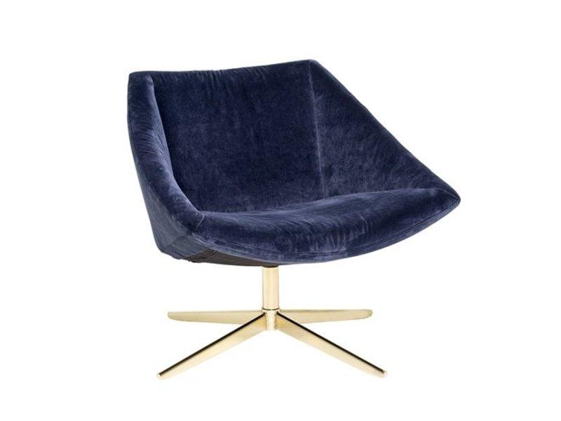 ... Bloomingville Elegant Armchair Blue Velvet ...