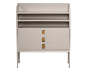 Bloomingville Cabinet with drawers gray