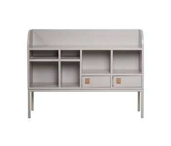 Bloomingville Cute cabinet with drawers gray