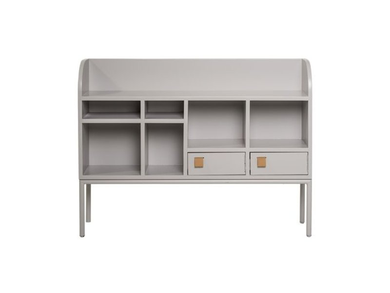 Bloomingville Cute cabinet light grey wood - LIVING AND CO.